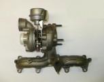 Turbodmychadlo Seat Alhambra, 1,9 TDi, 96, 110kW, r.v. 00- turbodmychadlo