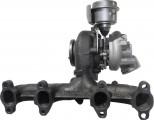 Turbodmychadlo Volkswagen Passat 1,9TDi , 77kW, r.v.08- turbodmychadlo