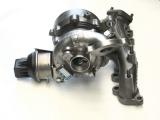 Volkswagen Scirocco, 2,0 TDI, 103kW, rv.08 - turbodmychadlo